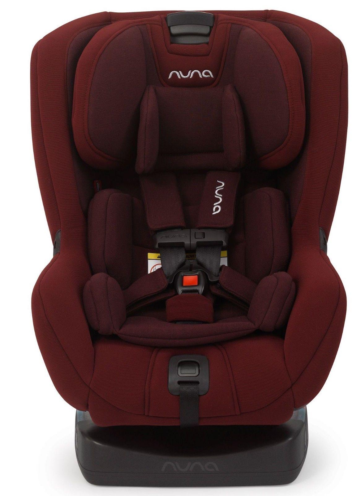 Nuna Baby RAVA Child Safety Convertible Car Seat Berry NEW