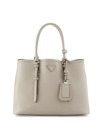 0ad28ad523 Saffiano+Cuir+Covered-Strap+Double+Bag