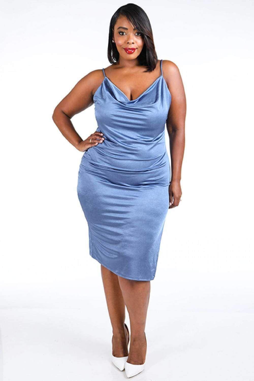 27++ Plus size satin dress ideas in 2021