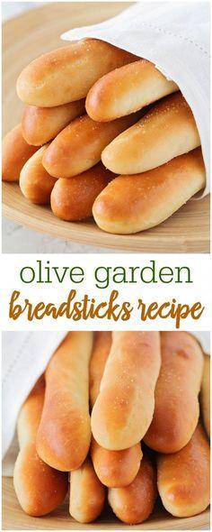Olive Garden Breadsticks Recipe (+VIDEO) | Lil' Luna #foodanddrink