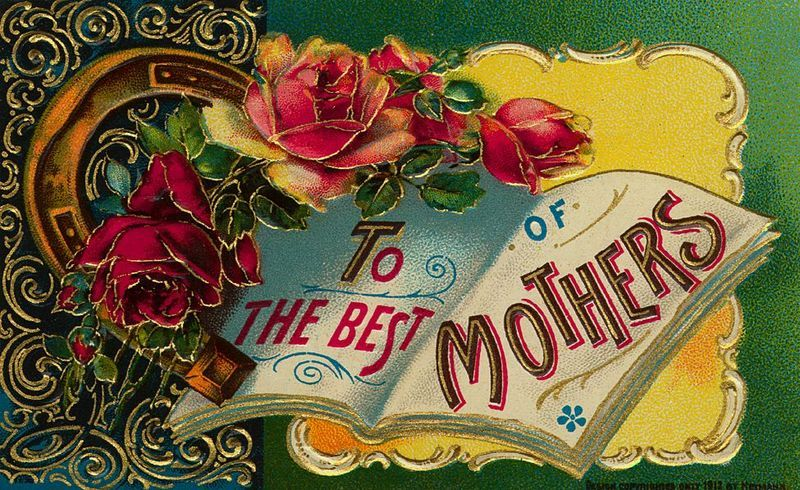 Free vintage greeting cards for mothers day craft ideas free vintage greeting cards for mothers day m4hsunfo