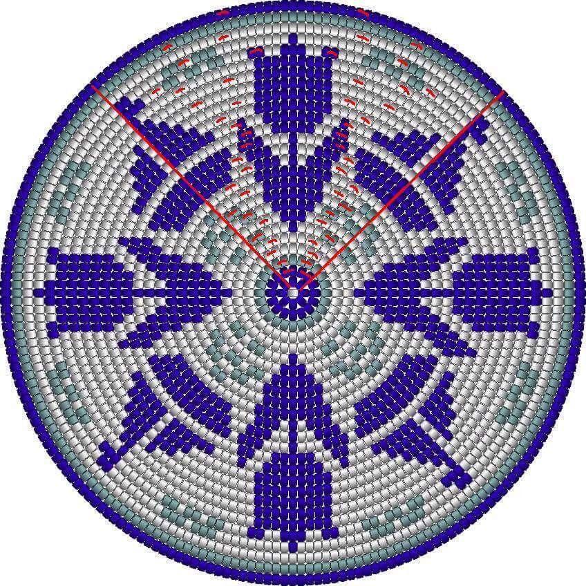 Pin de Isabel Moya Cera en Bases Mochilas Wayuu | Pinterest ...