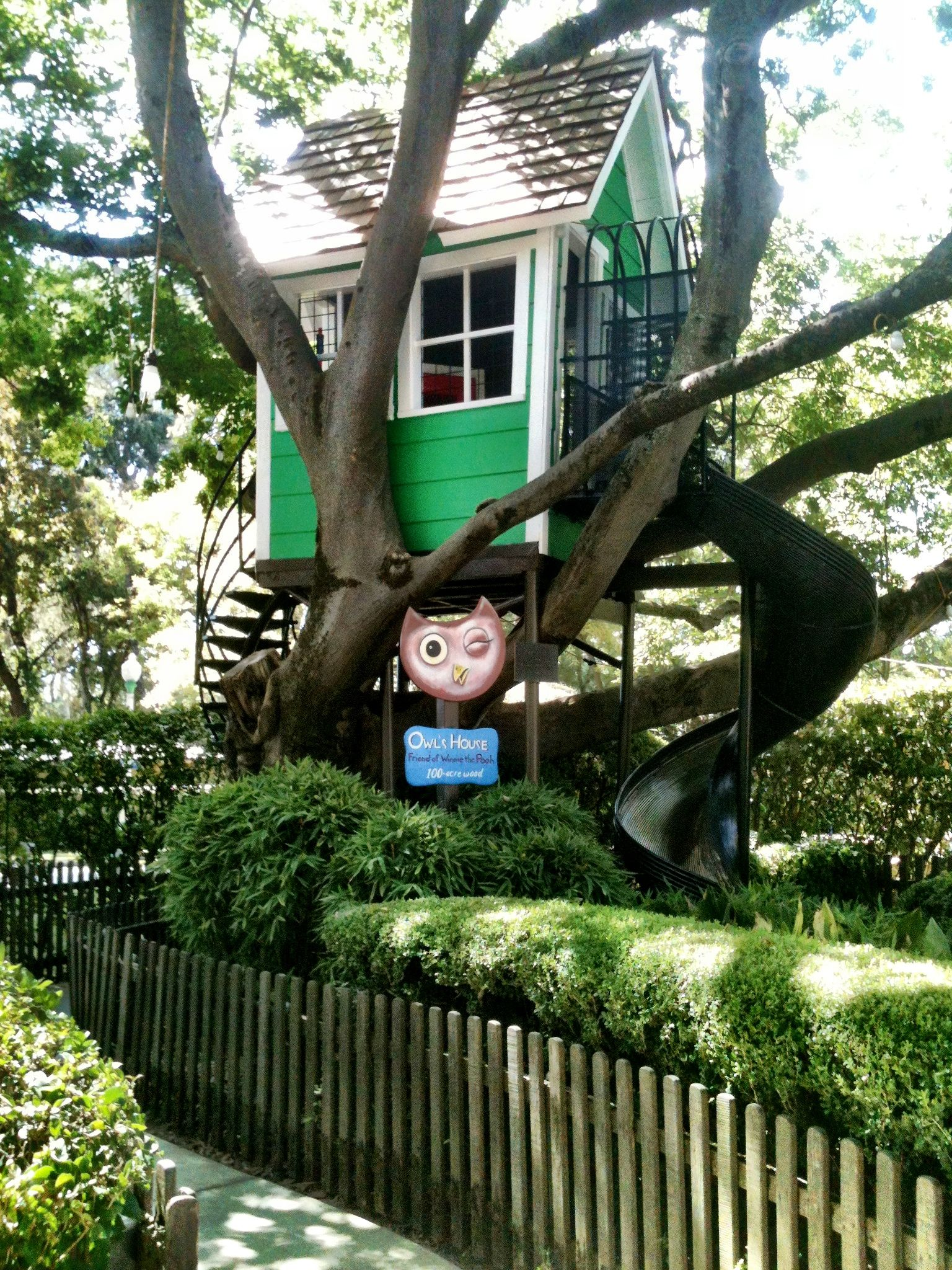 Owl's House in Pooh Corner, Fairy Tale Town Sacramento, CA