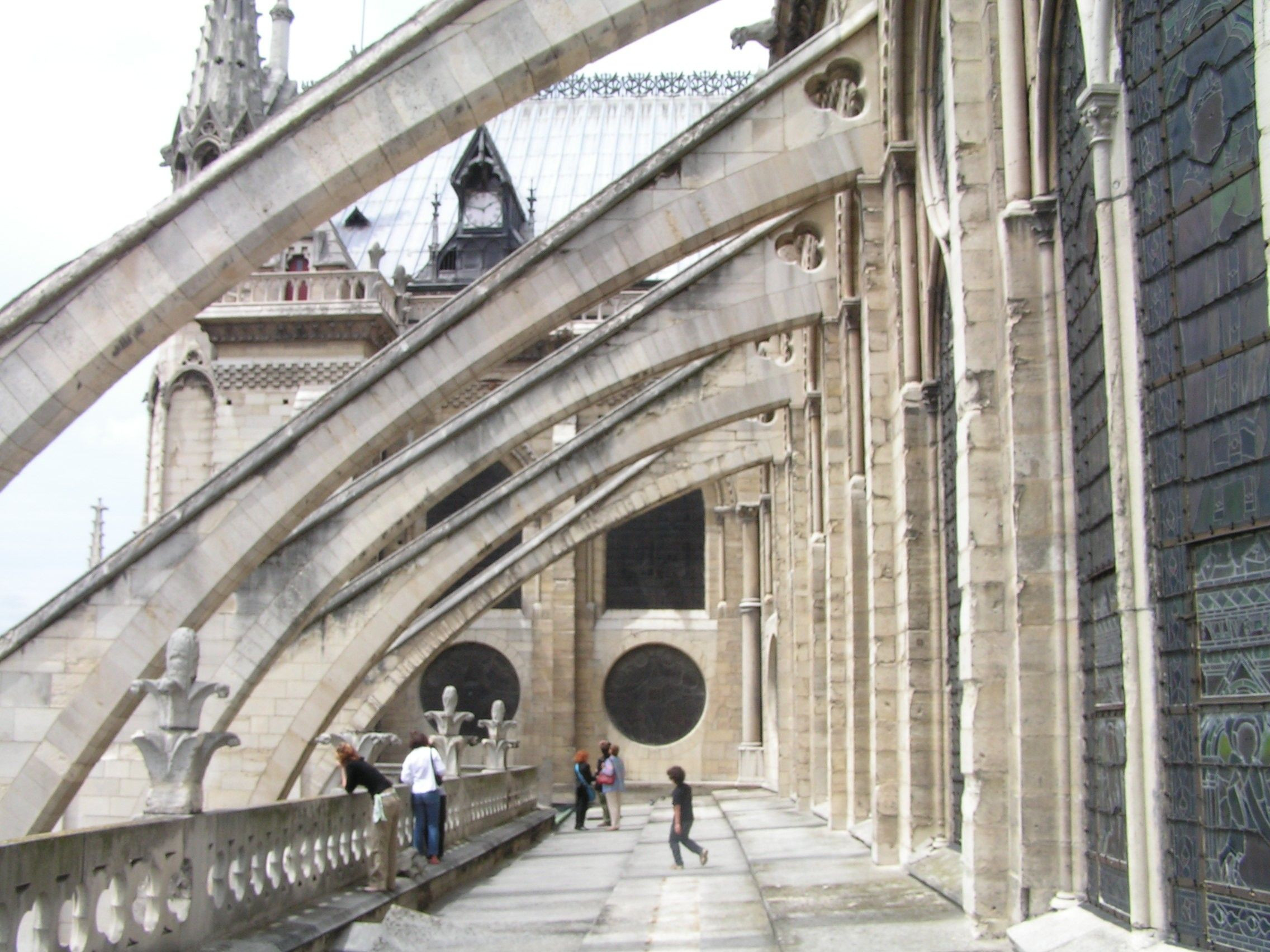 Image result for flying buttress notre dame