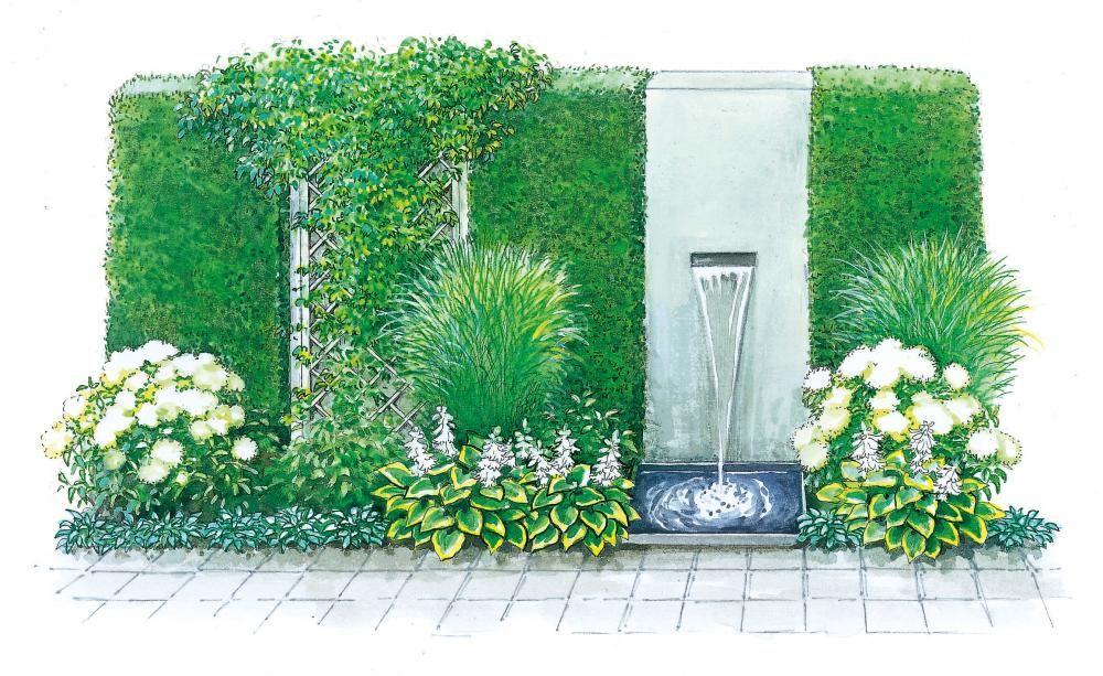 drei pflanzideen für beete mit ecken und kanten | hecken, Terrassen ideen