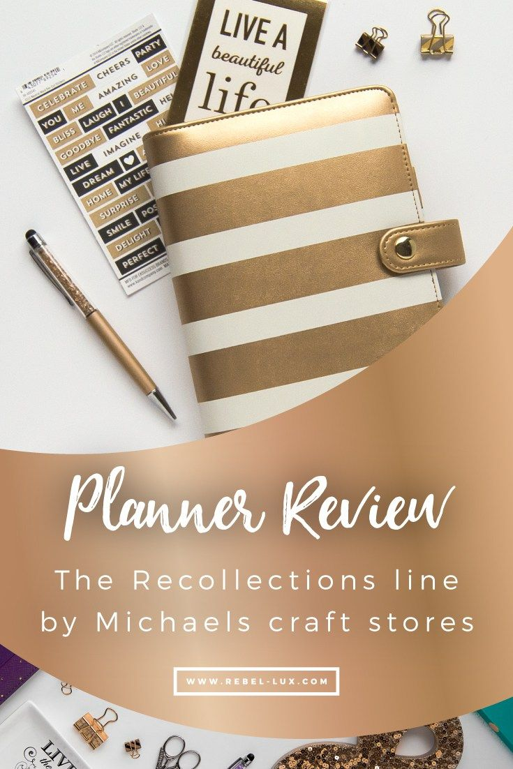 Planner Review Recollections By Michaels Craft Stores
