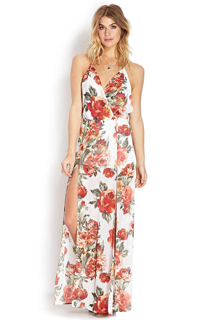 0b10cf06ac6 Enchanted Floral Maxi Dress