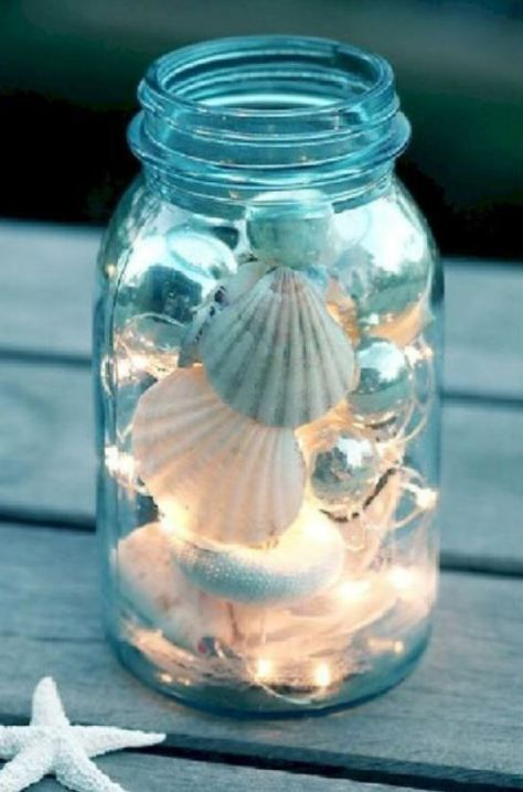 13 Lovely Seashell Decoration Ideas Mermaid Bathroom