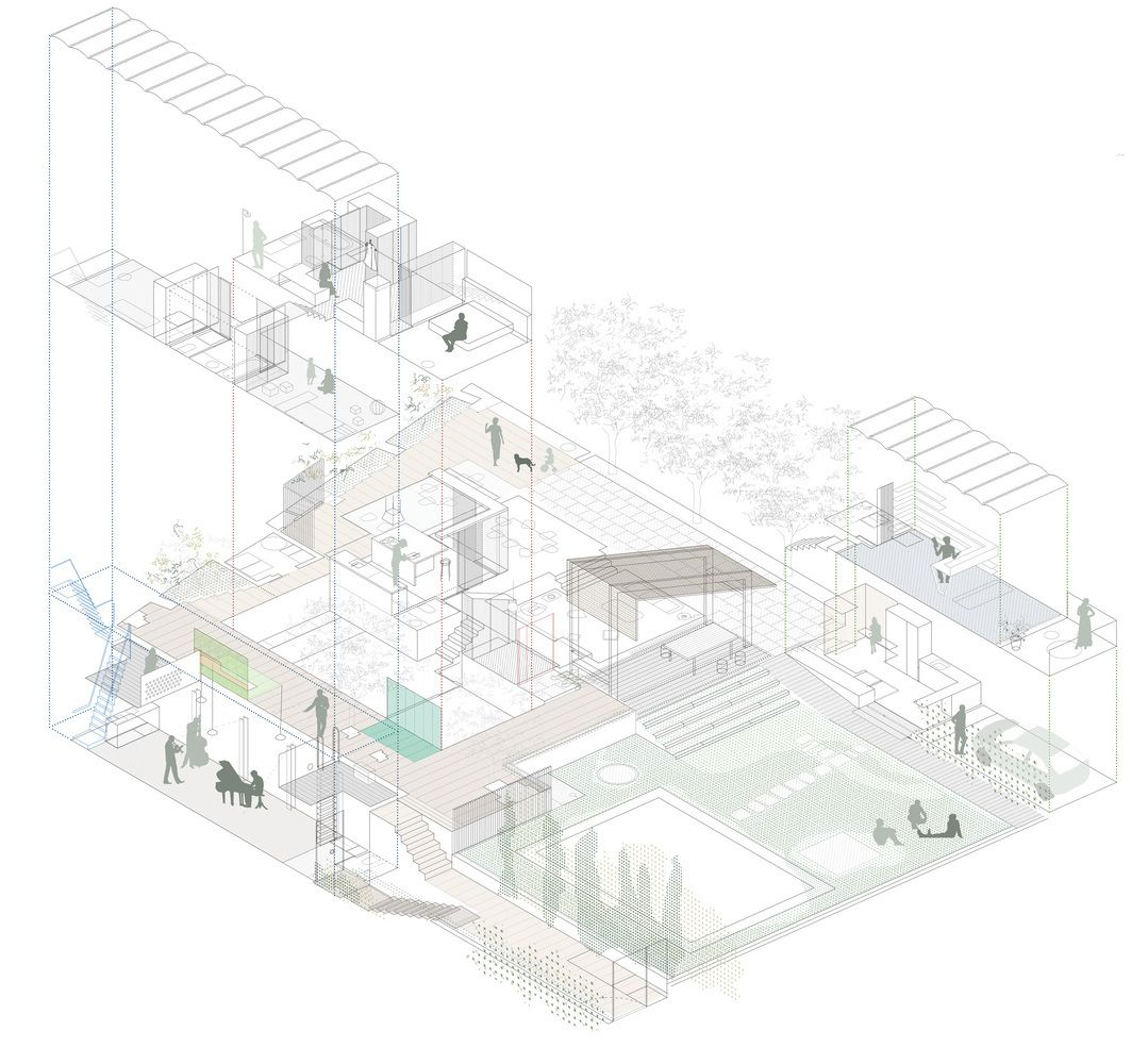 Gallery Of The Best Architectural Drawings Of 2018 119 Architecture Drawing Architecture Illustration Architecture Rendering