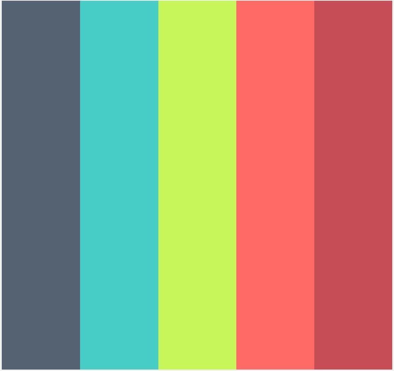 a variation of the kids color palette | web colors | Pinterest ...