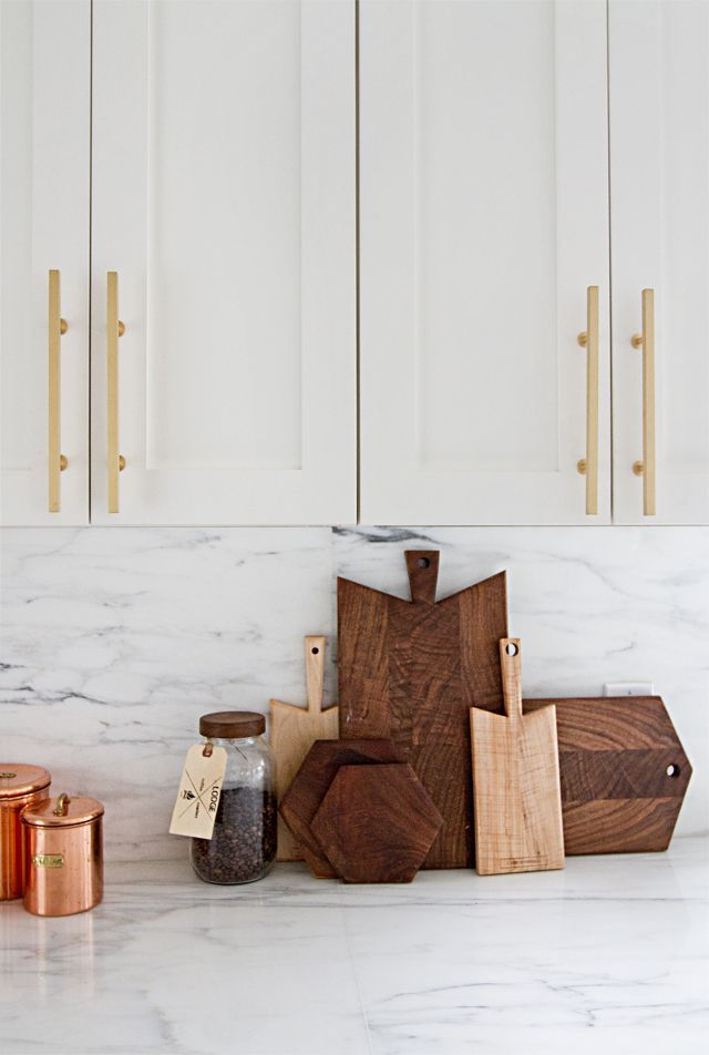 Free Im Shocked By How Much I Love These Brass Pulls Custom Fronts On Ikea  Cabinets Kitchen Renovation Before After Sarah Sherman Samuel With Ikea  Kitchen ...