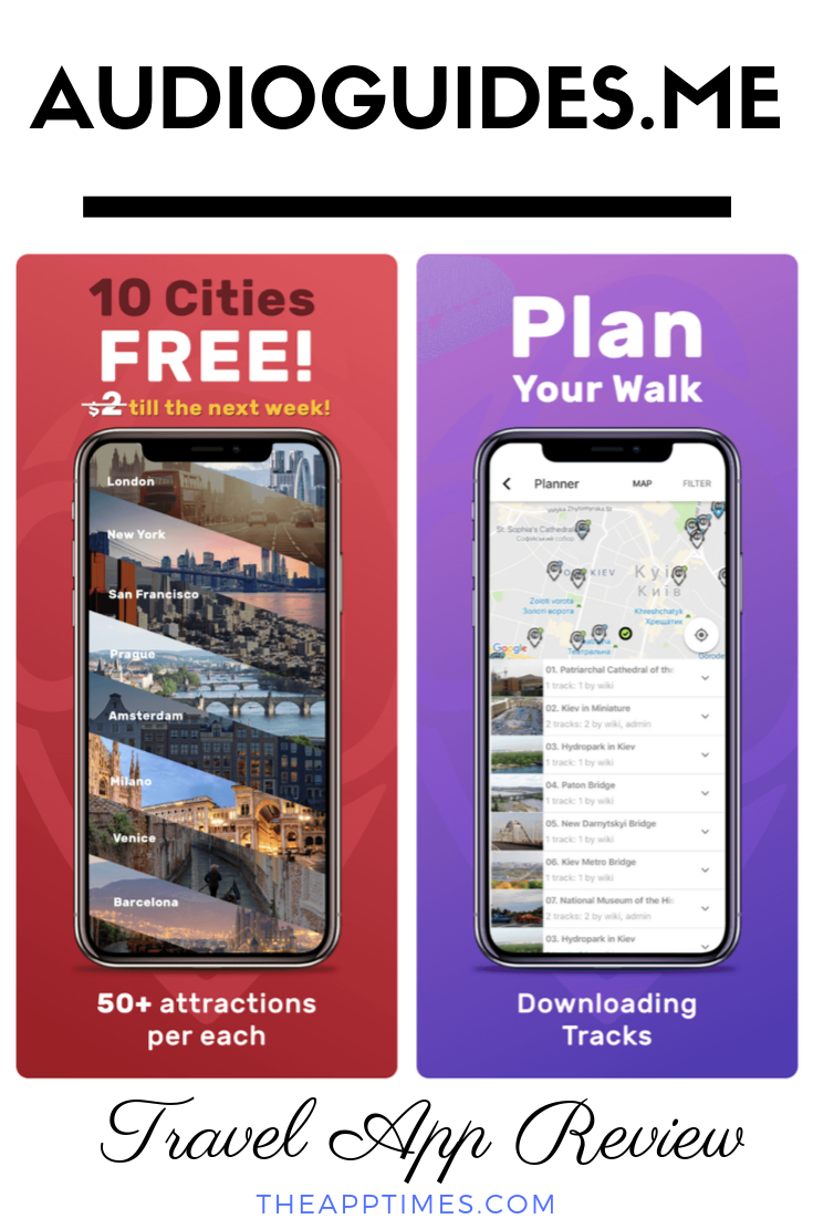 We Review Audio Guides Me A Mobile App That Offers Hours Of Audio Tracks On The Local Attractions In A City Best Travel Apps Traveling By Yourself Travel App
