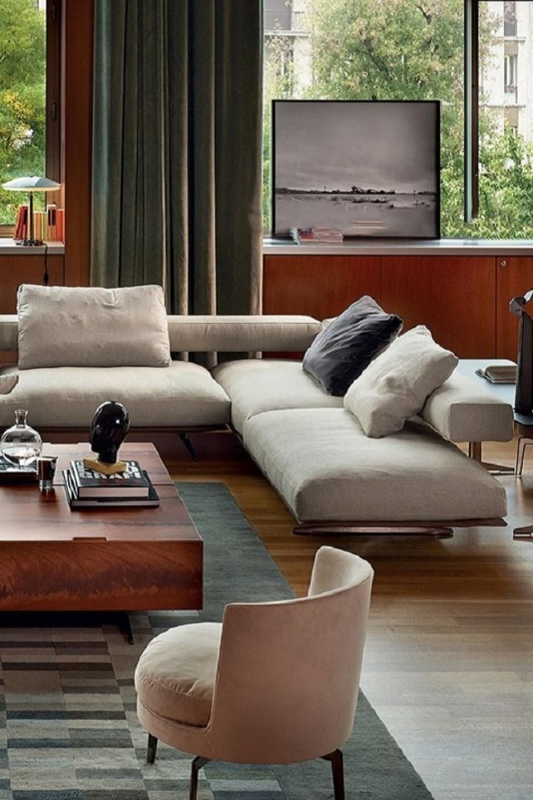 Wing Sofa By Flexform In 2020 Sofa Design Sofa Online Mid Century House