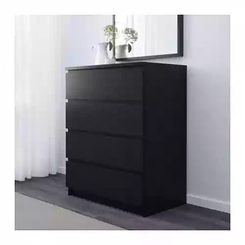 Black Chest Of Drawers From Ikea