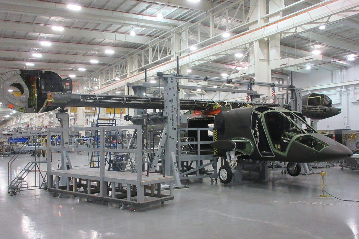 O Bell V-280 foi projetado para alcançar cerca de 580 km/h (Bell Helicopter)
