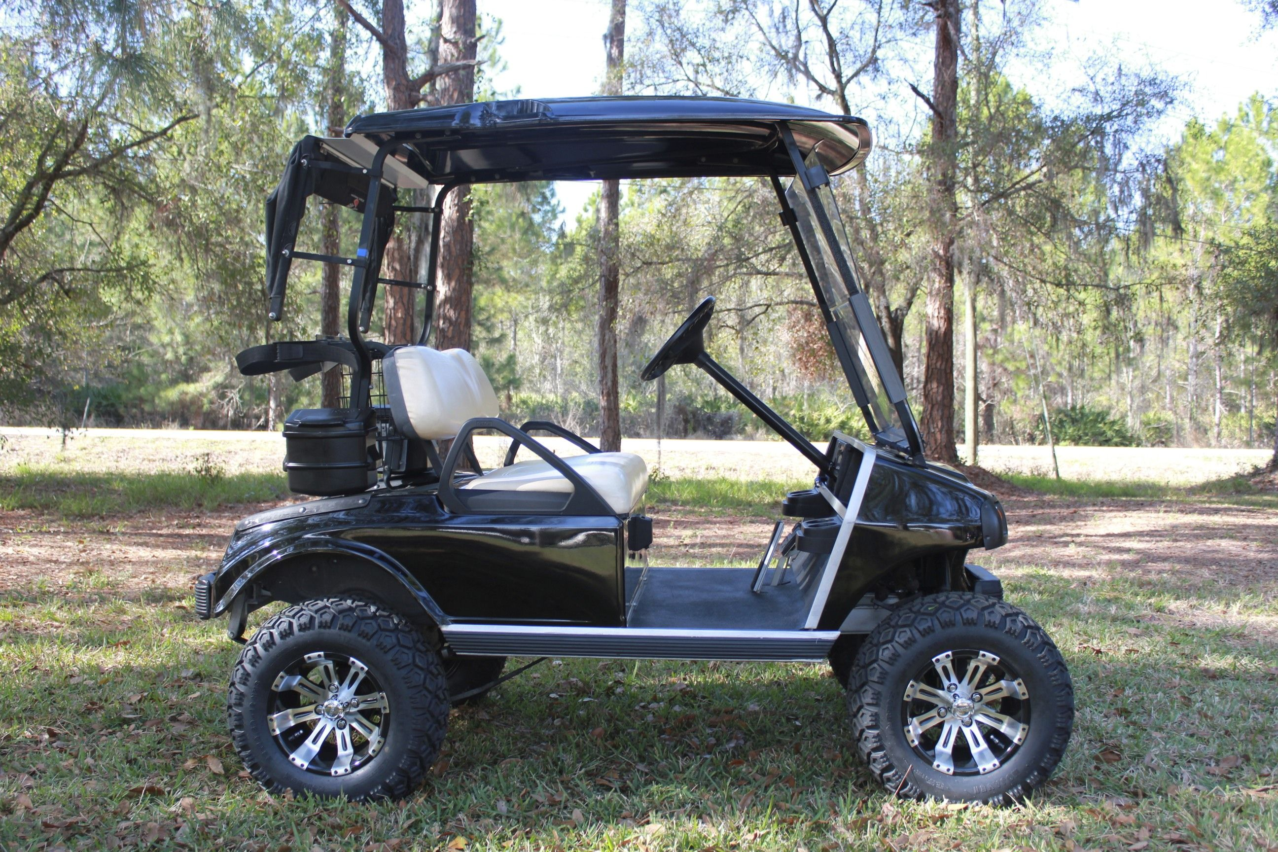 2003 Club Car Ds With 8 A Arm Lift And Heavy Duty Rear Leaf