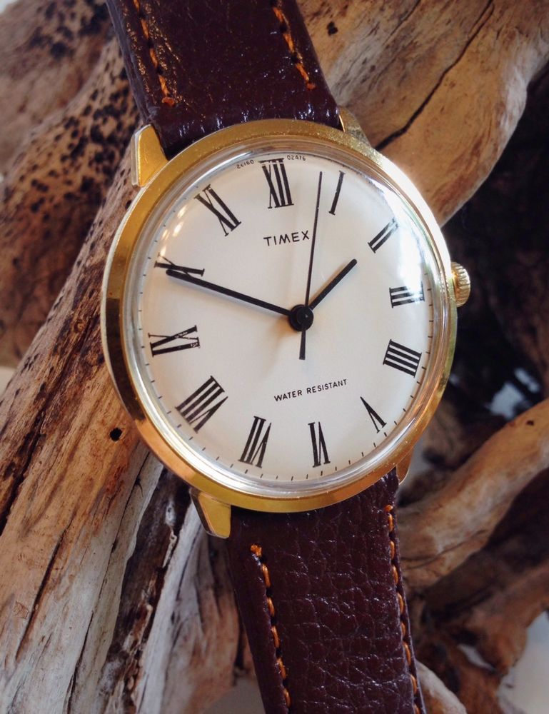 5eee9a510 Vintage 1976 Timex Marlin Men's Mechanical Watch - Serviced - With New  Strap #Timex