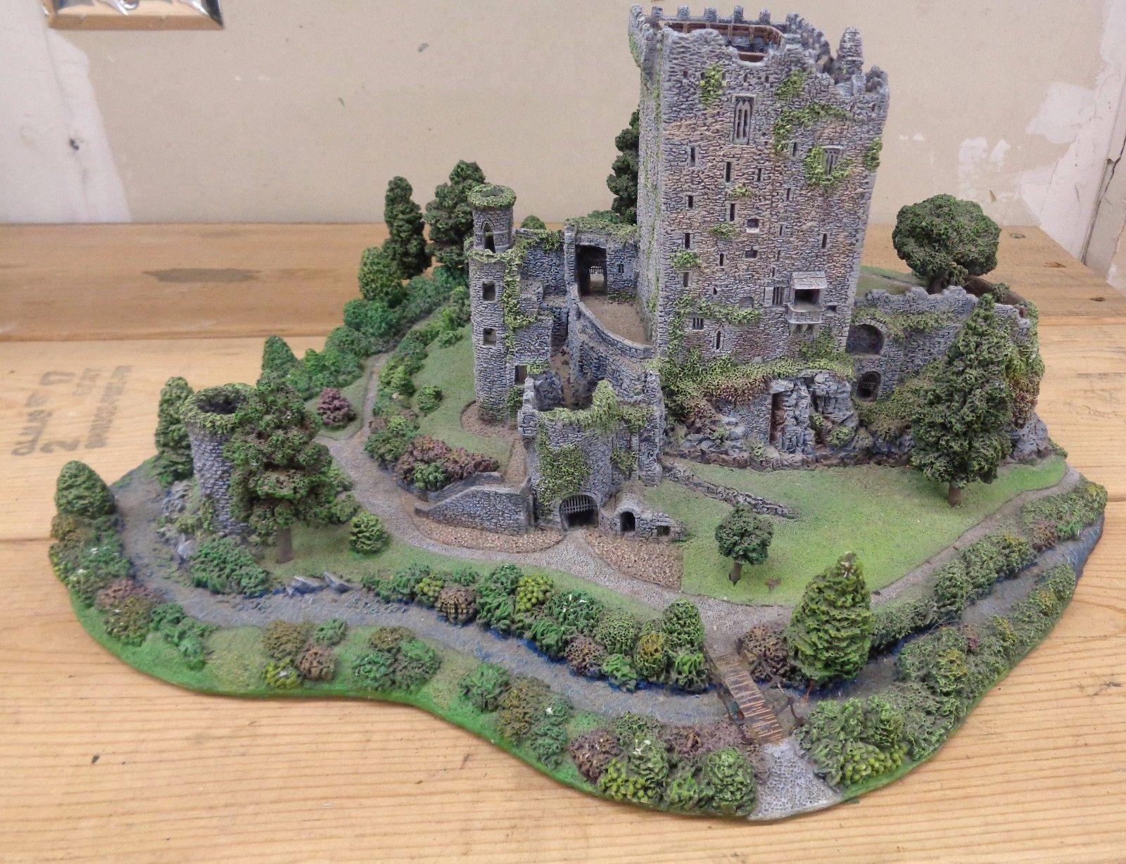 danbury mint blarney castle sculpture county cork with amazingly detail ireland