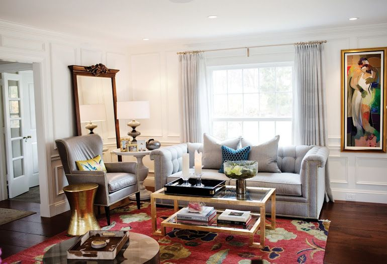 Best Traditional Eclectic Living Room Eclectic Living Room 400 x 300