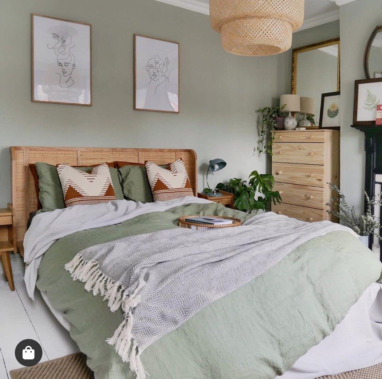 pinliz nelson on home  sage green bedroom home