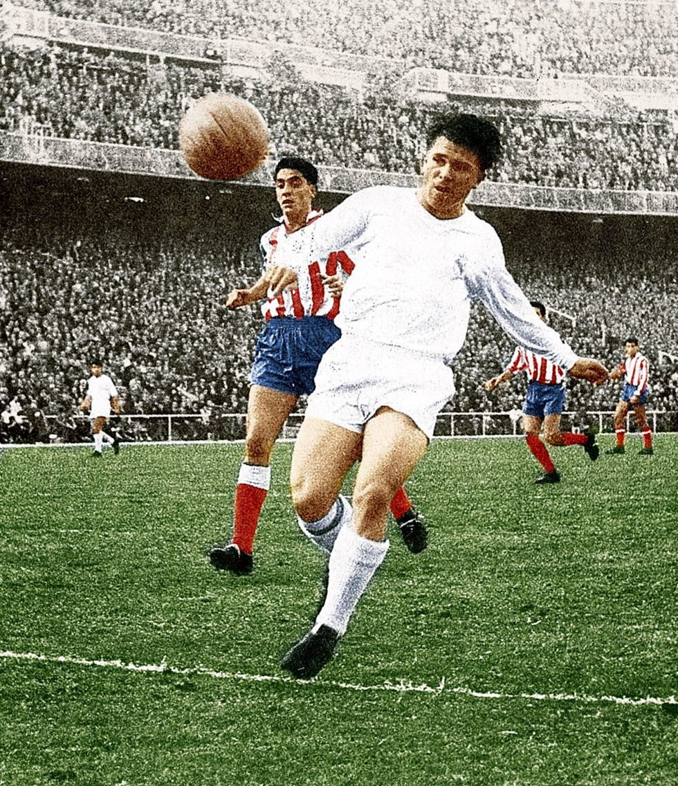 Ferenc Puskas Real Madrid football Soccer classic