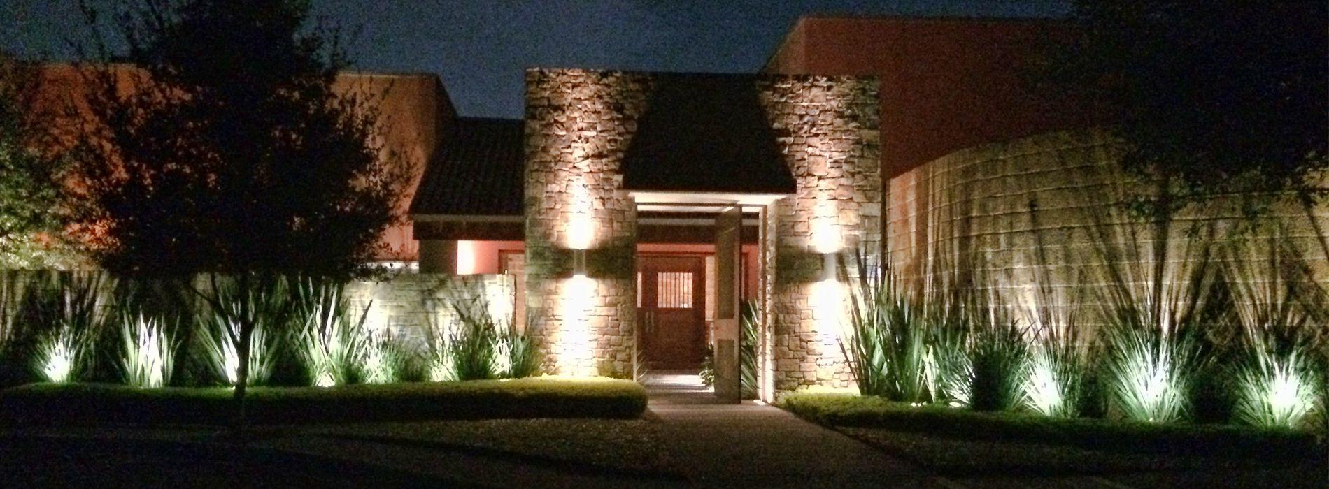 Resultado de imagen para iluminacion para parques y for Iluminacion exterior para arboles