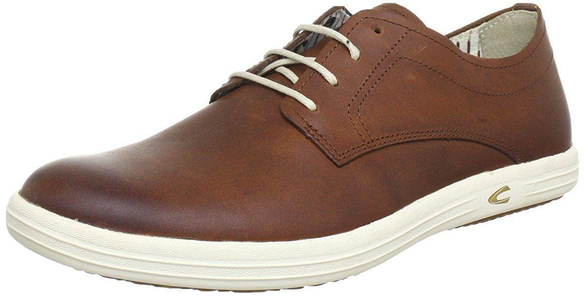 Camel Active como 11 - Zapatos con Cordones de Cuero Hombre, Color Marrón, Talla 40