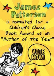 James Patterson is nominated for a Children's Choice Book