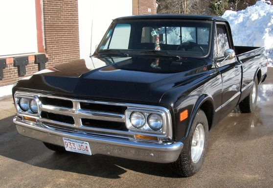 1968 GMC Classic Antique Longbed Pickup Truck mine was a