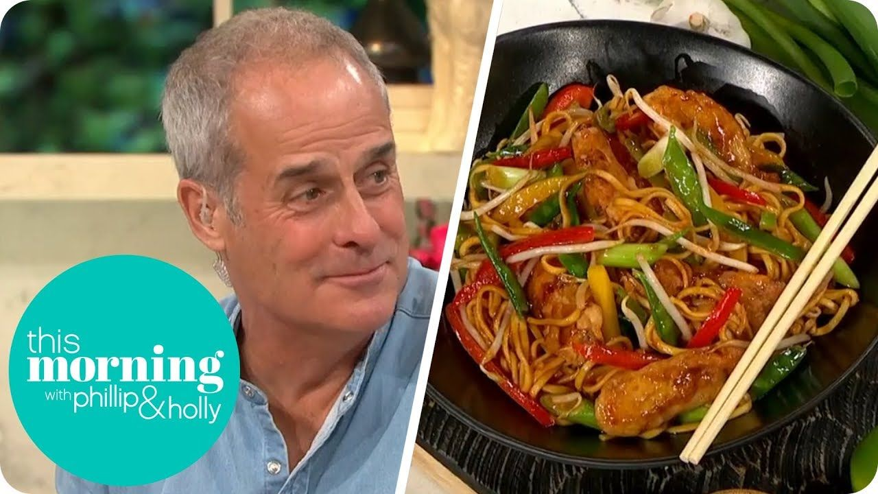 Phil Vickery's Chicken Chow Mein | This Morning - YouTube ...