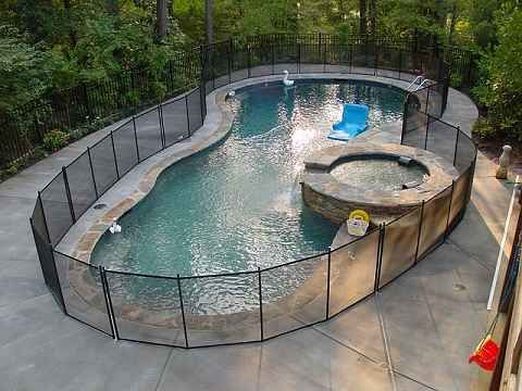 Pool Fence Pool Ideas Pinterest Backyard Outdoor Living And