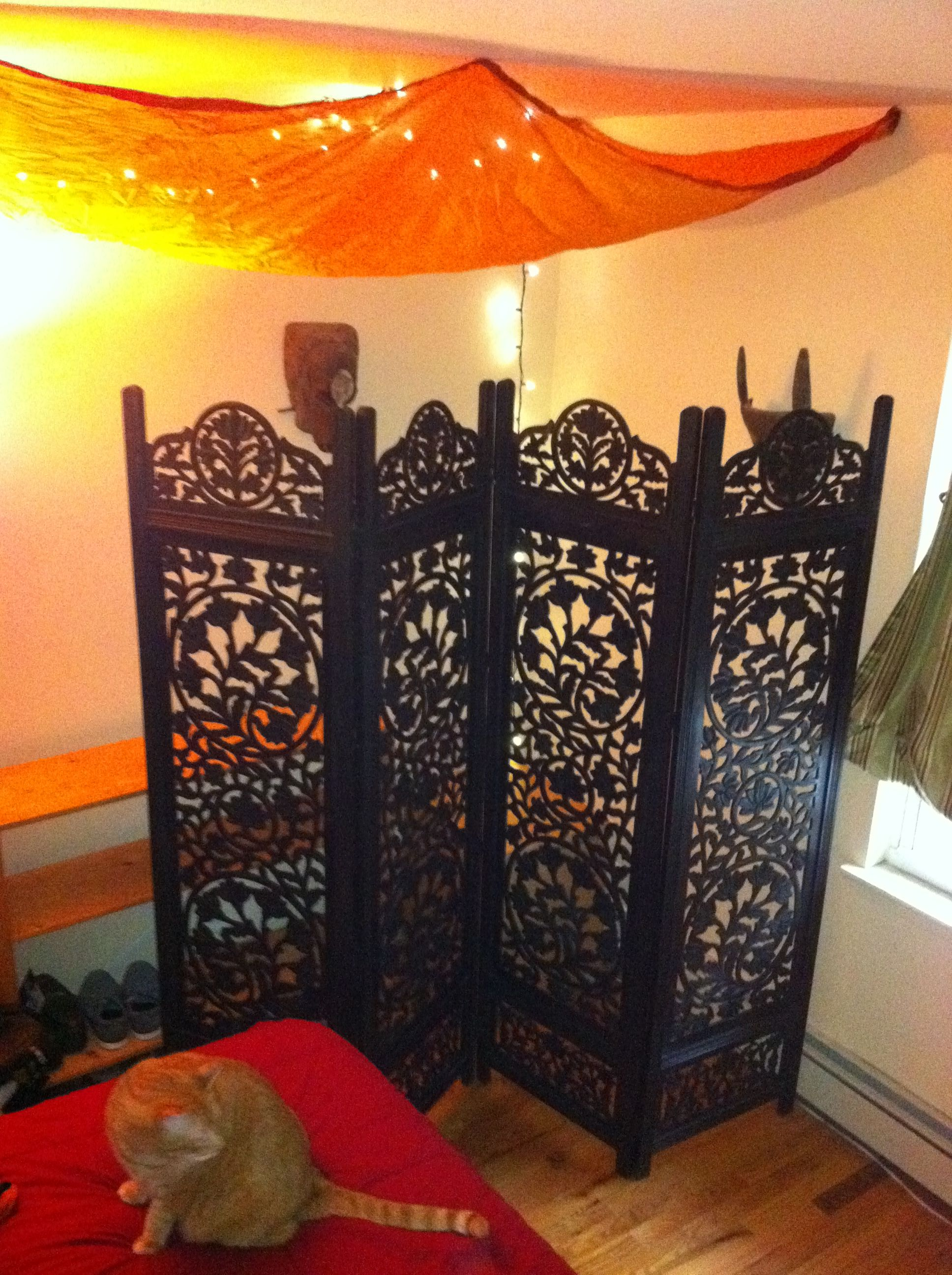 pin wooden a traditional malibu as room create used bedroom moroccan to divider dividers accent corner theme