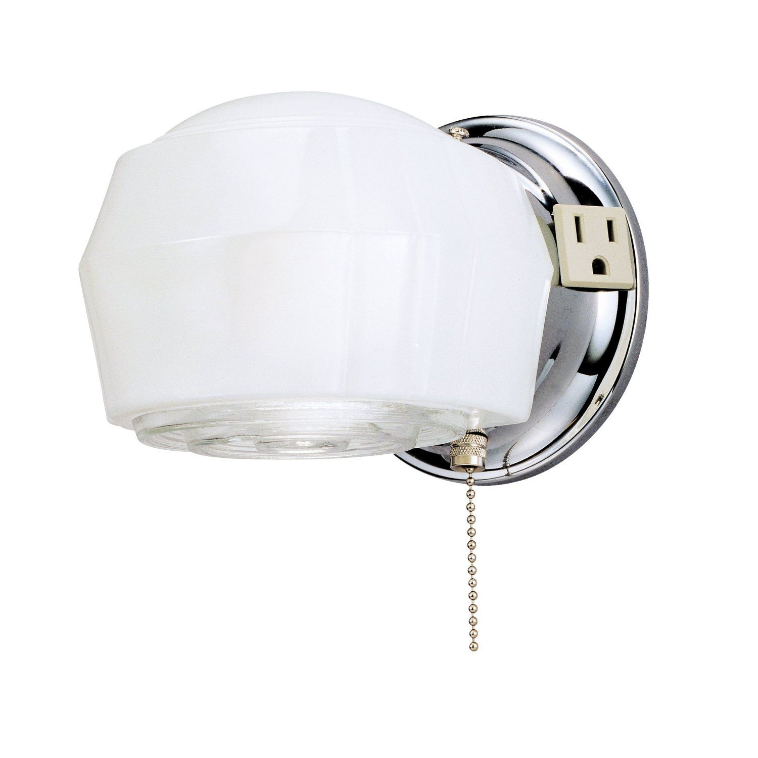 Bathroom Light With Outlet Westinghouse 66402 5 1 4