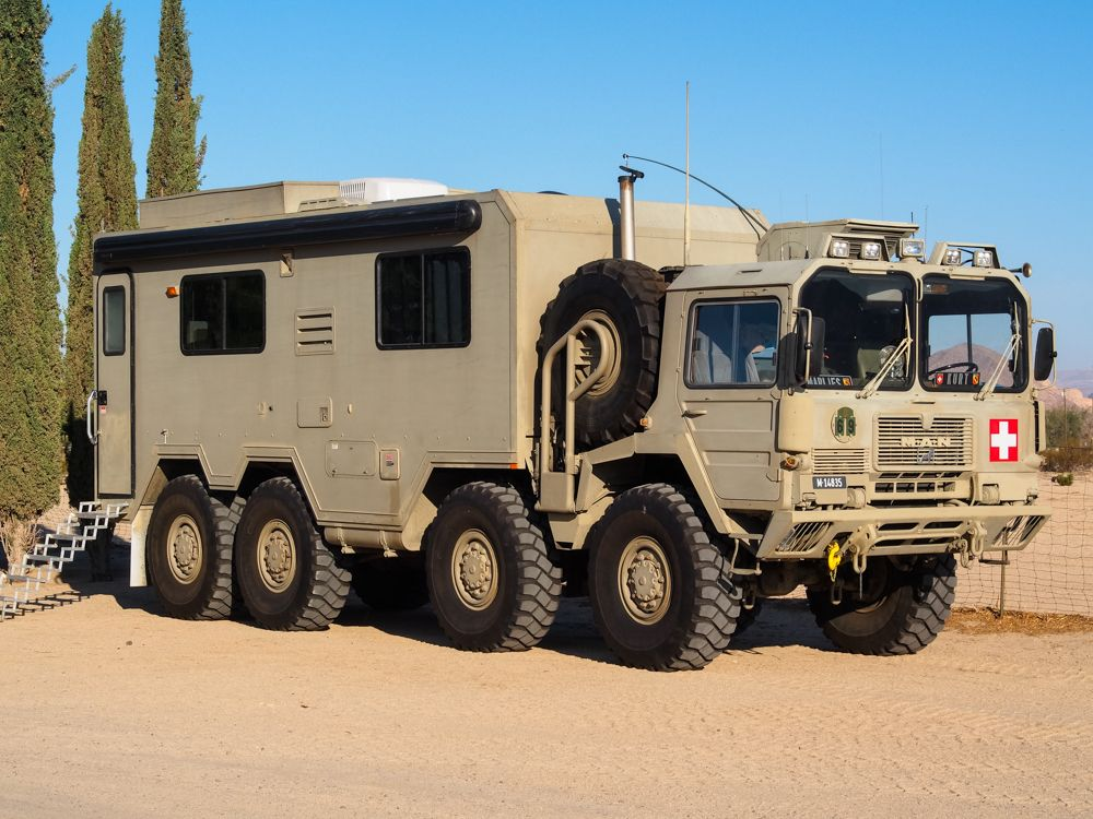 Man Kat 6x6 Expedition Truck Overland Truck Bug Out Vehicle