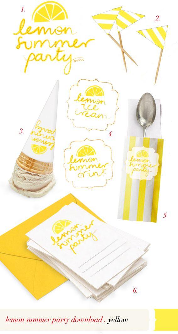 lemon summer party! download!