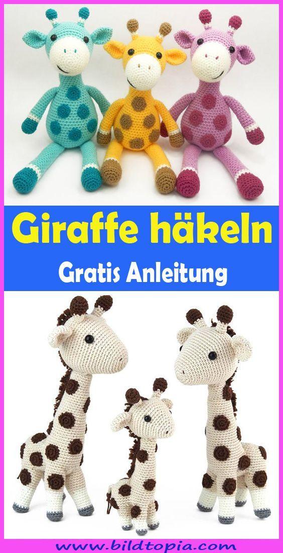 Photo of Amigurumi Giraffe häkeln – kostenlose DIY Anleitung – Häkeln – Anleitungen -…