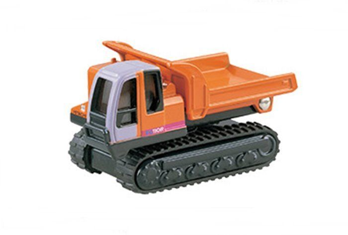 Tomy Tomica #80 Hitachi Construction Machinery Rubber Crawler Carrier EG110R #Tomica