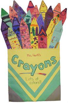The Crayon Box That Talked Mlk Day Bulletin Board Ideas