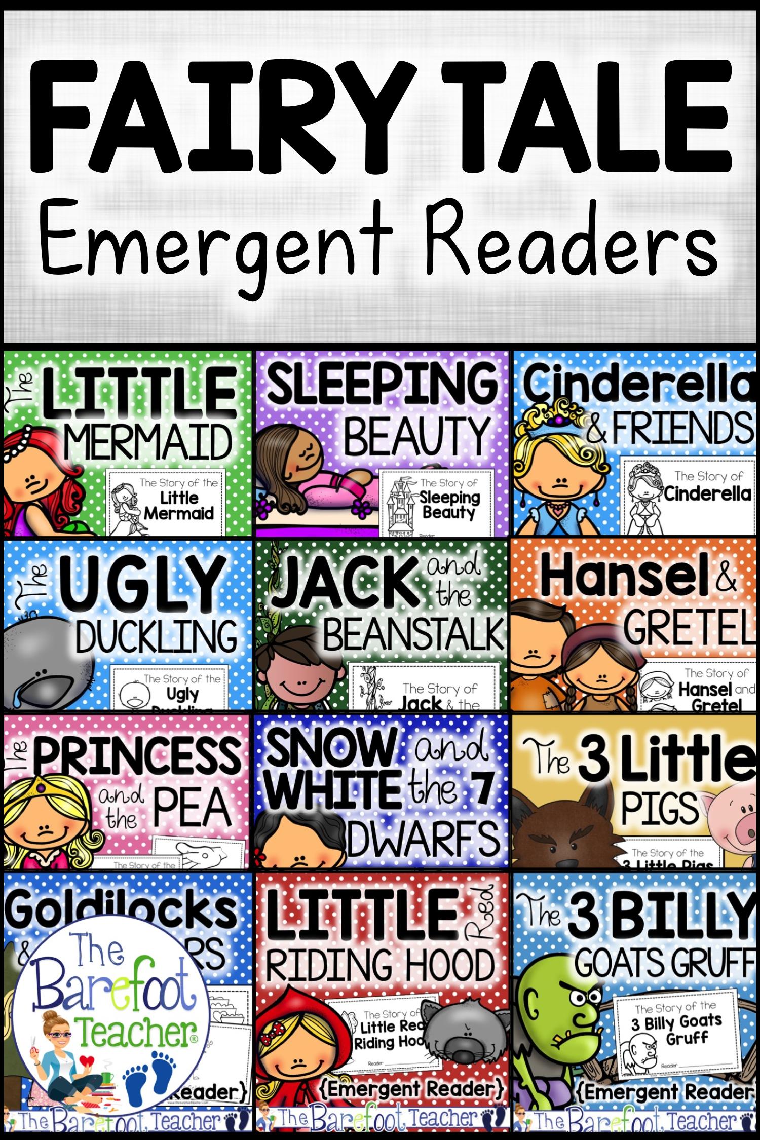 Free Little Red Hen Folk Tale Emergent Reader In