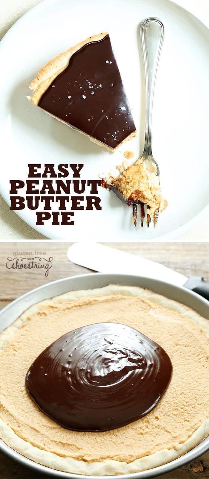Gluten Free Peanut Butter Pie
