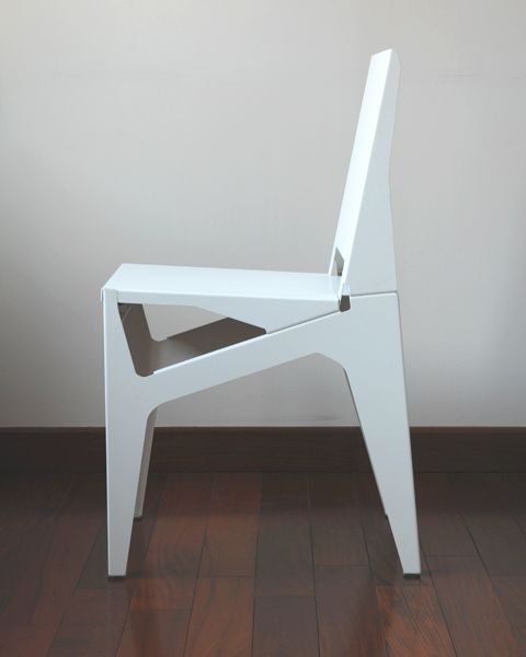 Sheet Metal Chair Liyun Design Objects The Chair Is Composed