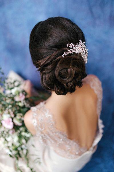 Konstancja Grzebien Do Wlosow Slub Galazka Ludozerna Designer Jewellery Grzebyki Do Wl Pearl Bridal Headpiece Pearl Hair Comb Wedding Hair Comb Wedding