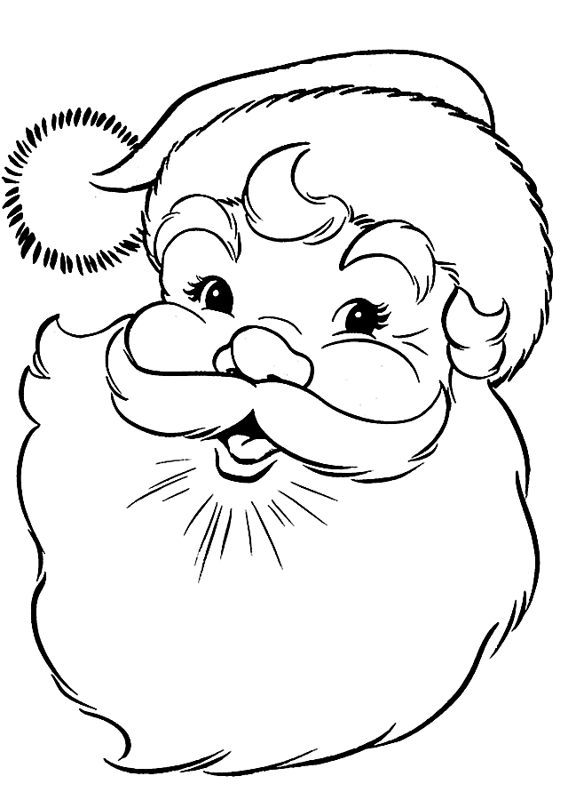 santa-coloring-page-face-579fbd9f5f9b589aa9d951de.png (640×900) for ...