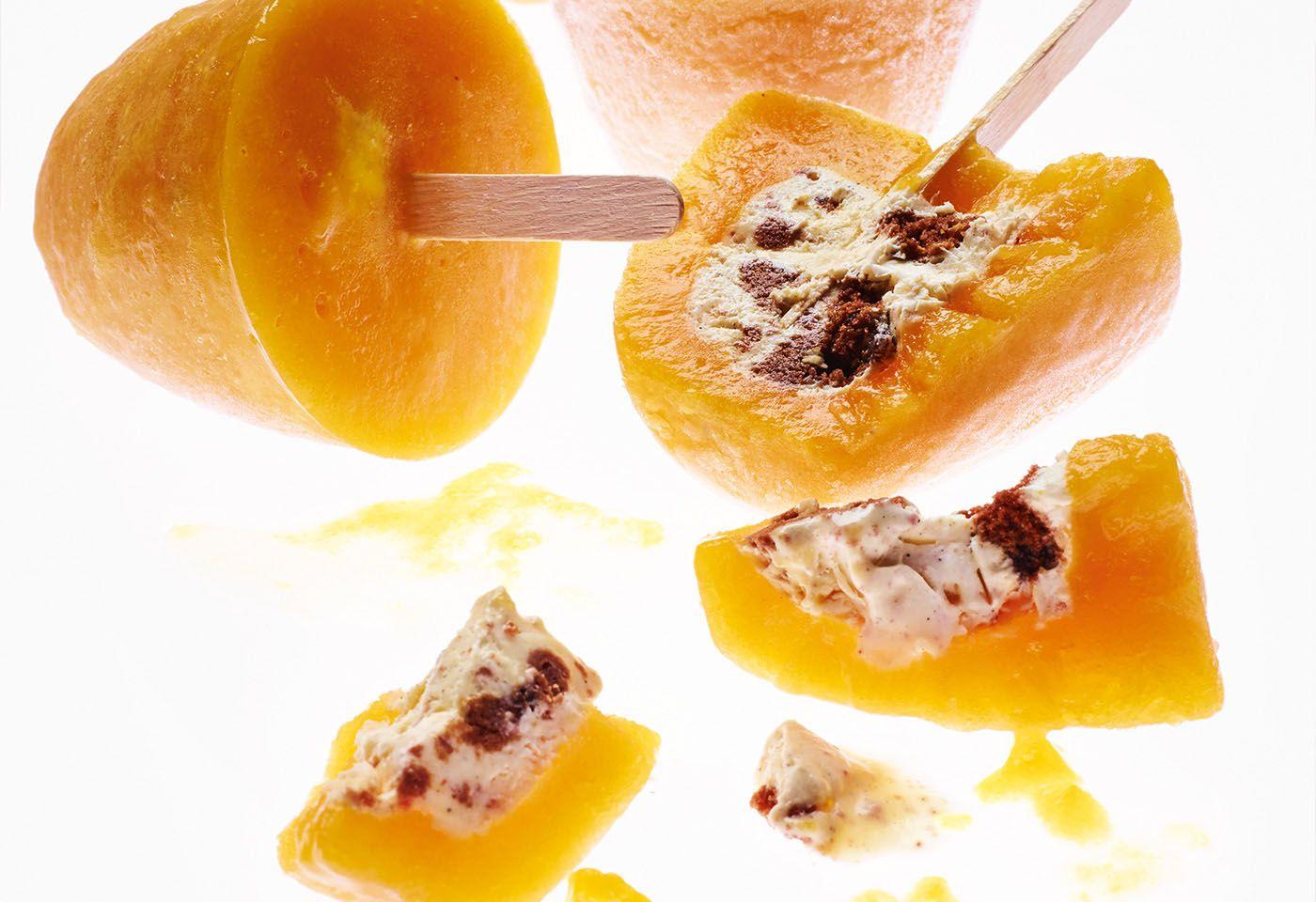 Mango-Cookie-Eis