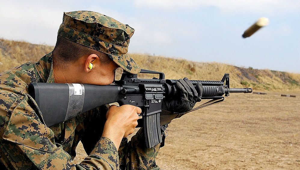 This Is How Marines Learn To Shoot Usmc quotes, Marines