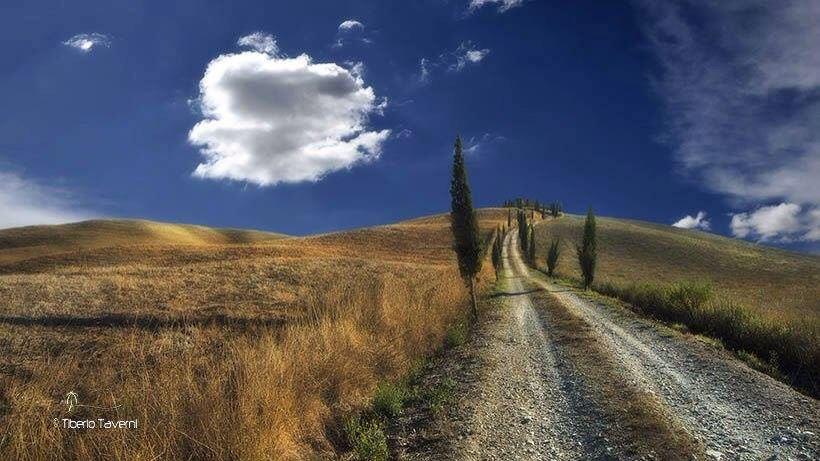 Valle de Orcia La Toscana.