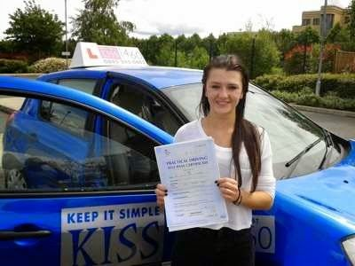 KISS Driving Instructor Martin Adams in Farnborough, Hampshire - Holly | KISS Drive