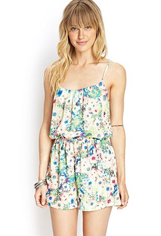 Love 21 watercolor dress