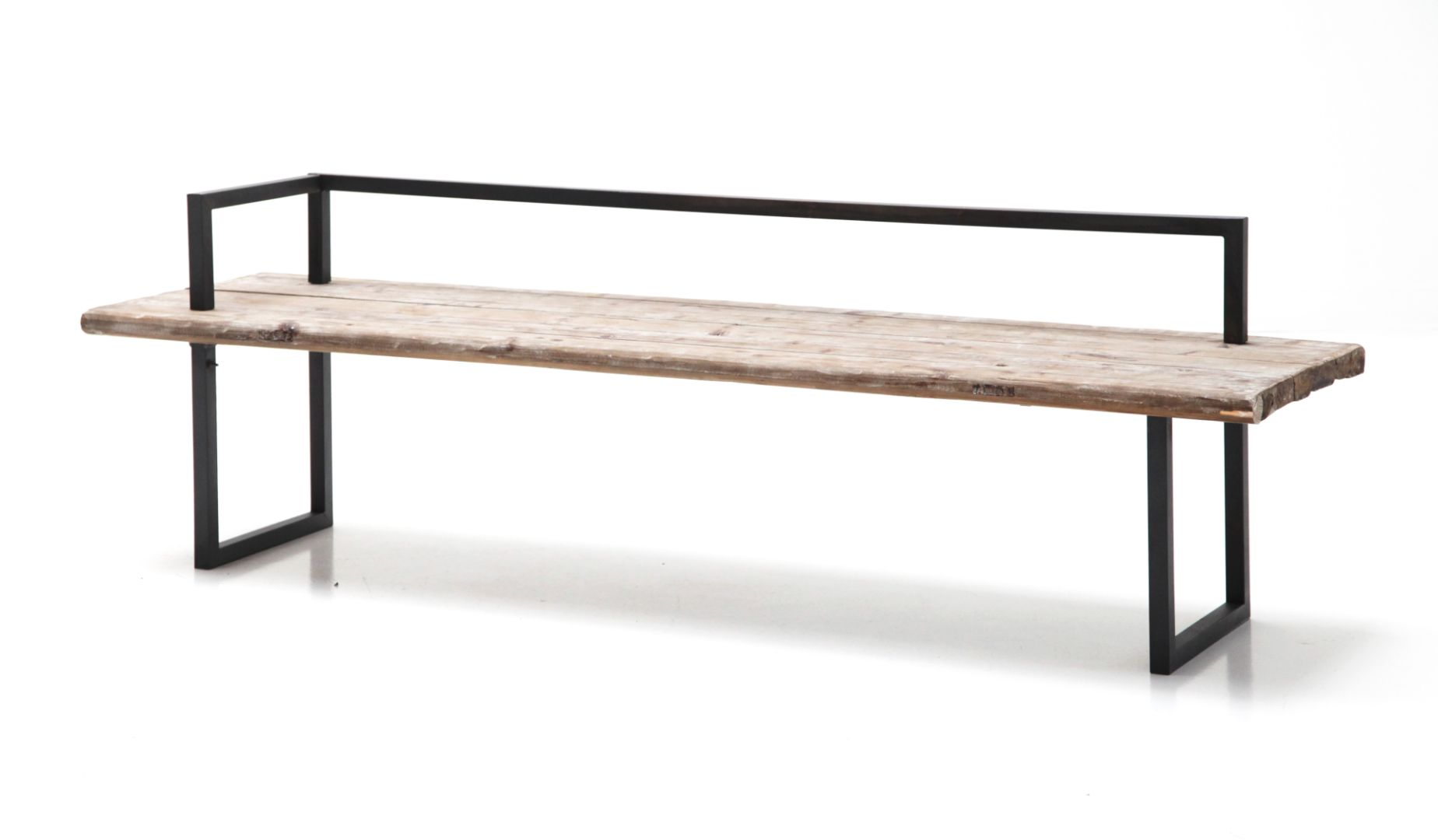 Wood And Iron Bench Iron Bench Bench Furniture Rustic Bench
