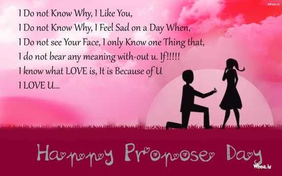 Happy Propose Day 2015 SMS Quotes Wishes Messages in Hindi ...
